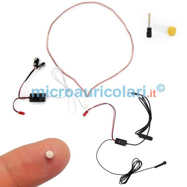 Micro auricolare nano con collana induttiva in rame