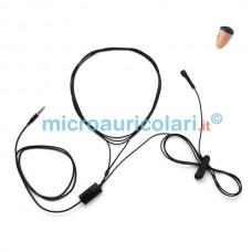 Micro auricolare VIP Pro Mini con collana SPY extrasottile
