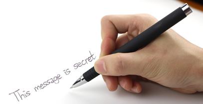 Scrivi con la penna bluetooth